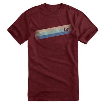 W82 Men's Boarder Stripes Short-Sleeve Tee