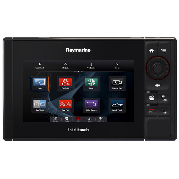 """Raymarine eS78 7"""" MFD Combo With US C-MAP Charts And CHIRP/DownVision Sonar"""