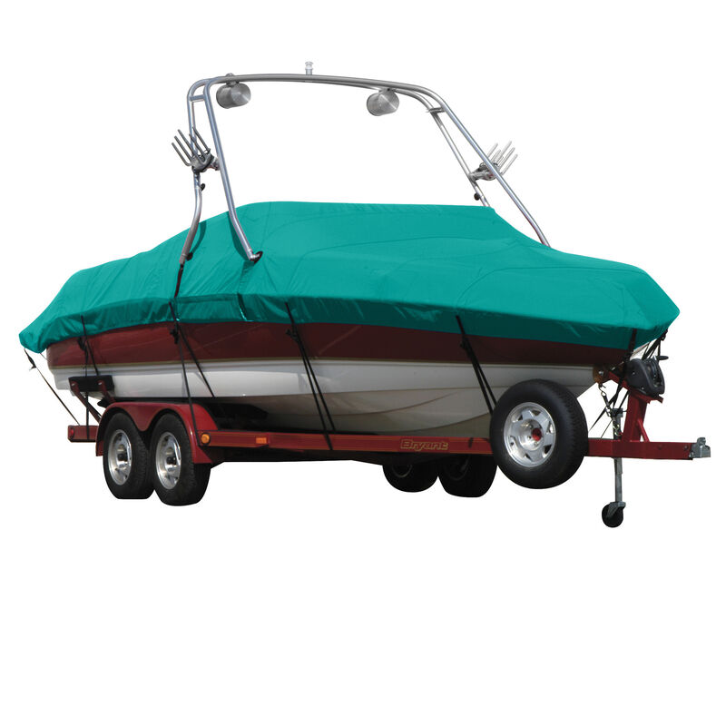 Exact Fit Covermate Sunbrella Boat Cover For MOOMBA OUTBACK COVERS PLATFORM image number 17