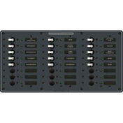 Blue Sea 230V AC Branch Circuit Breaker Panel - 24 Positions