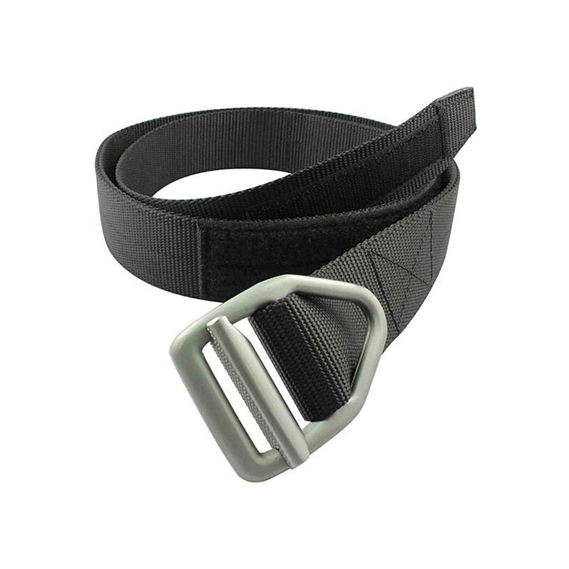 "Bison Men's Last Chance 1.5"" Light-Duty Belt with Gunmetal Buckle image number 1"