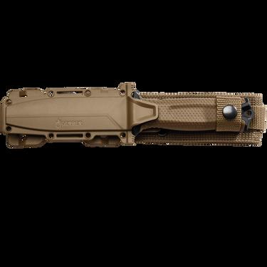 Gerber StrongArm Fine Edge Fixed Knife, Cerakote Coyote