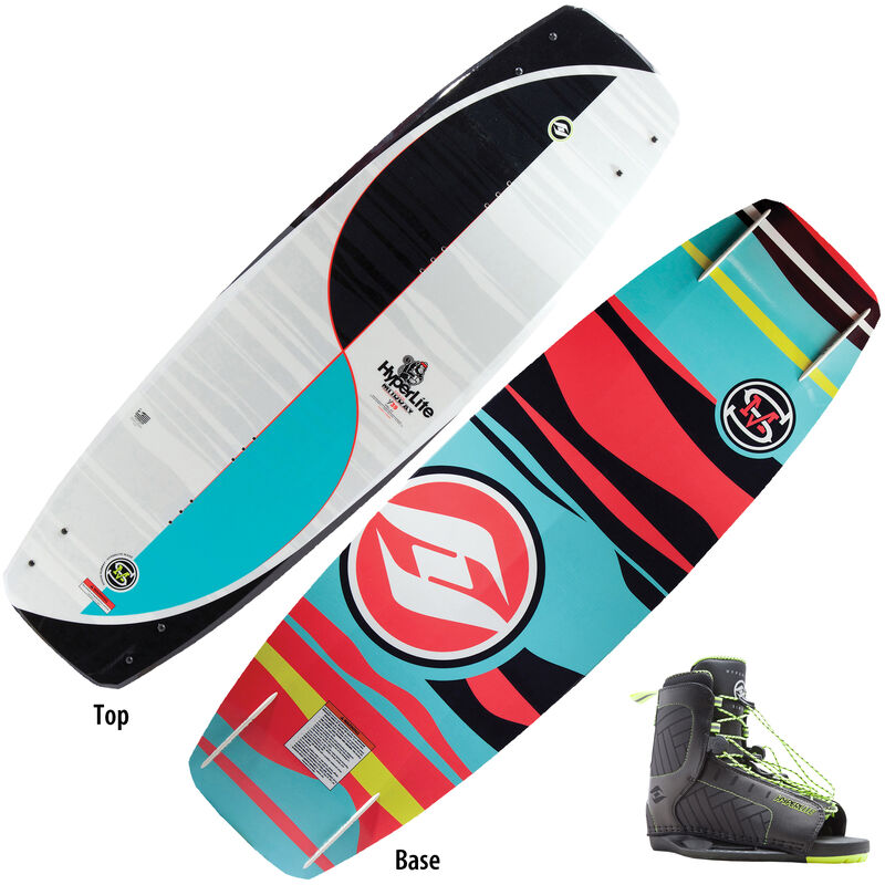 Hyperlite Murray 139 Wakeboard With Remix Bindings image number 1