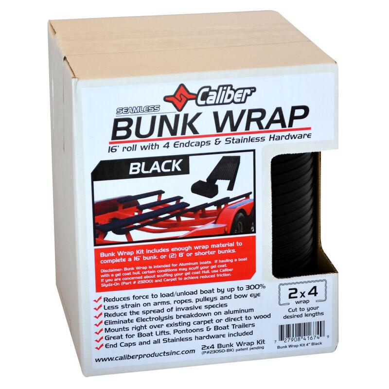 "Caliber 16' Bunk Wrap Kit For 2"" x 4"" Bunks, Black image number 2"