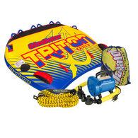 Gladiator Triton 4-Person Towable Tube Package