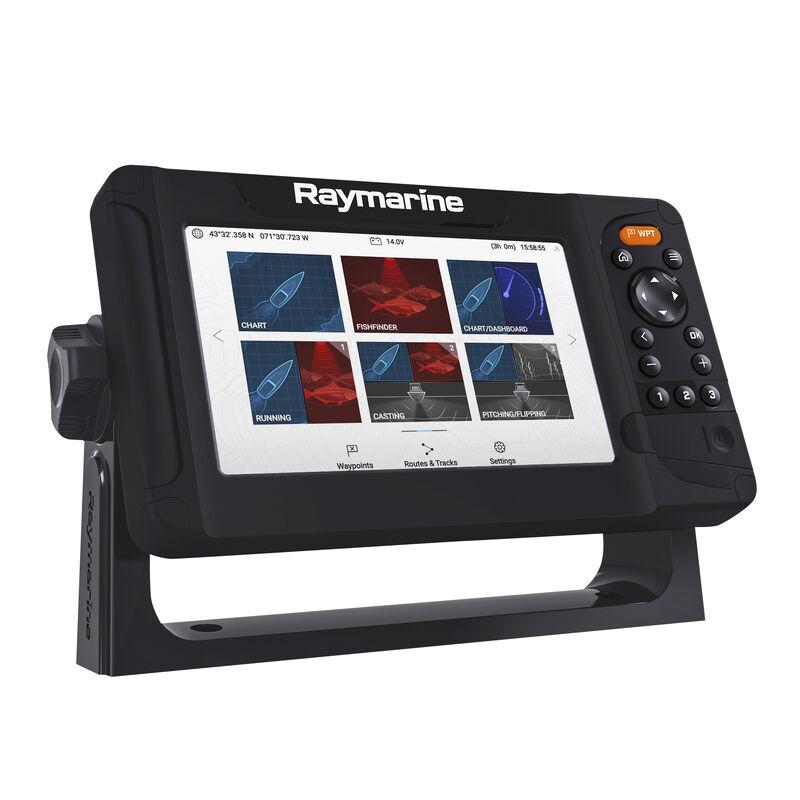 Raymarine Element 7 HV-100 GPS Fishfinder w/Navionics Nav+ US & Canada Charts image number 1