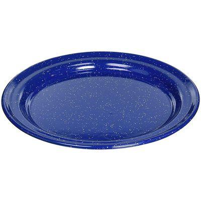 "GSI Outdoors 10"" Enamelware Plate, Blue"