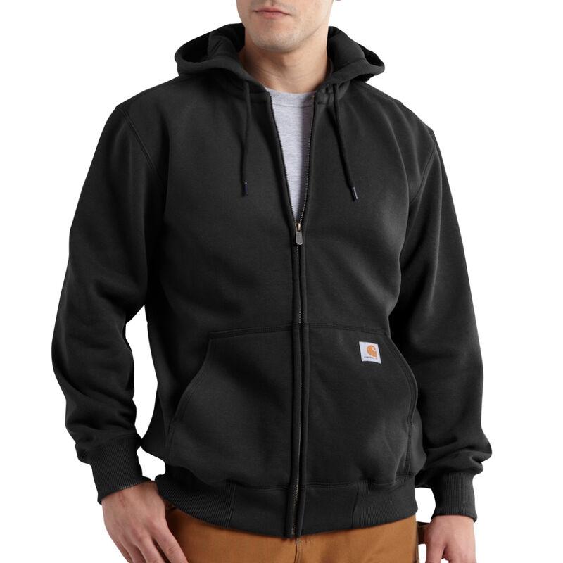 Carhartt Men's Rain Defender Paxton Heavyweight Hooded Zip-Front Sweatshirt image number 3