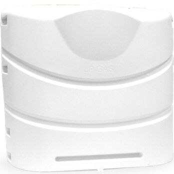 Camco 30-lb. Heavy-Duty Polypropylene Propane Tank Cover, Polar White
