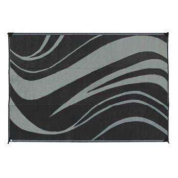 Reversible Wave Design Patio Mat