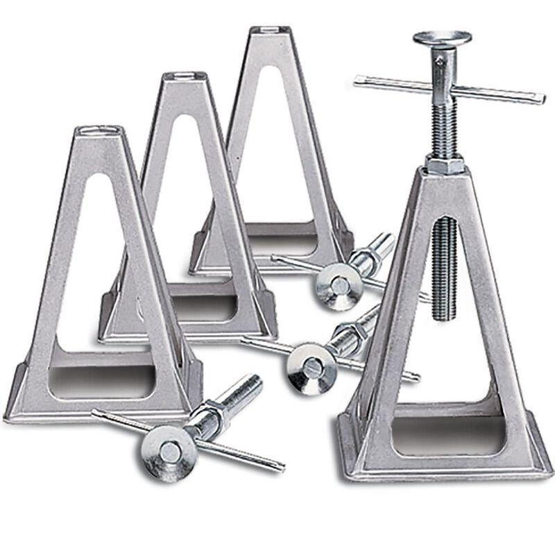 Aluminum Stack Jacks, Set of 4 image number 3