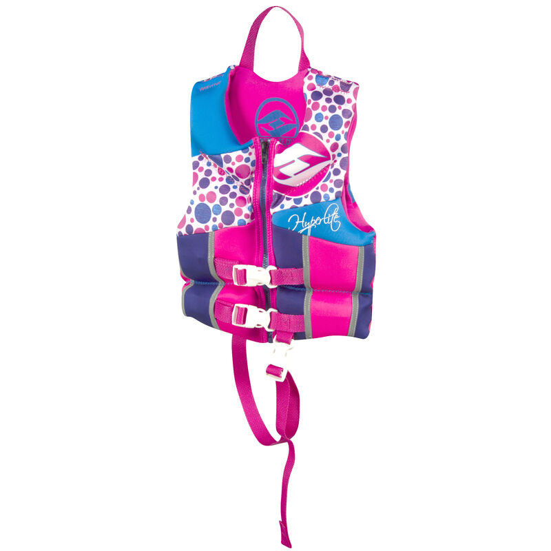 Hyperlite Pro V Child Life Jacket, pink image number 3
