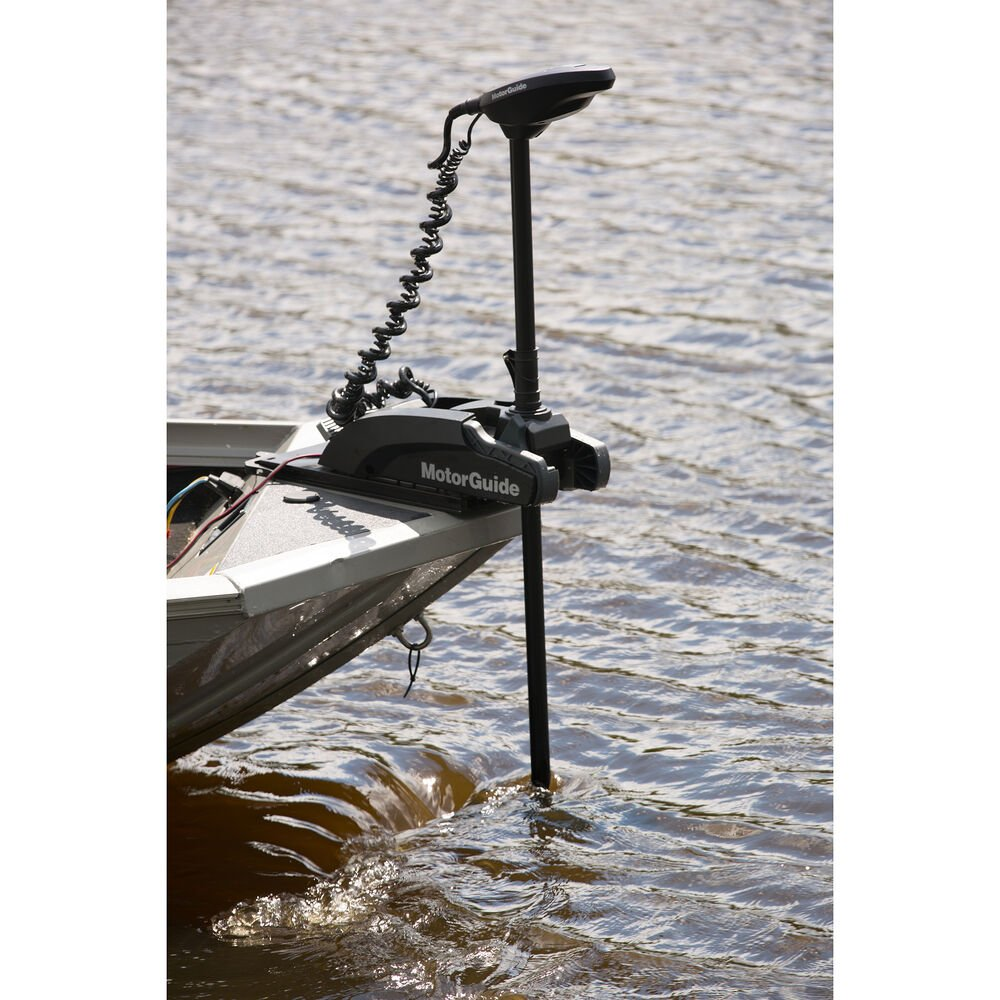 MotorGuide Xi3 Freshwater Wireless Trolling Motor with Pinpoint GPS, 55-lb   48