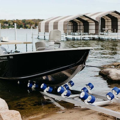 Roll-n-Go Model 2000 Shore Ramp for Boats up to 2,000 lbs.