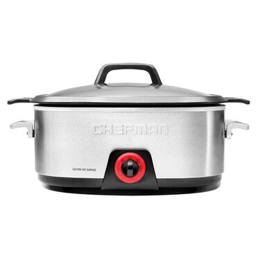 Chefman Slow Cooker, 6 quarts