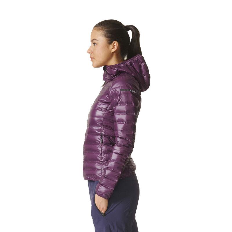Adidas Women's Terrex Lite Down Hooded Jacket image number 4