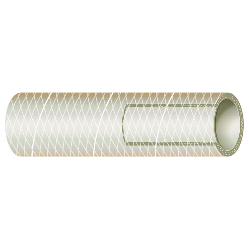 "Sierra 1-1/4"" Clear PVC Tubing, 50'L image number 1"