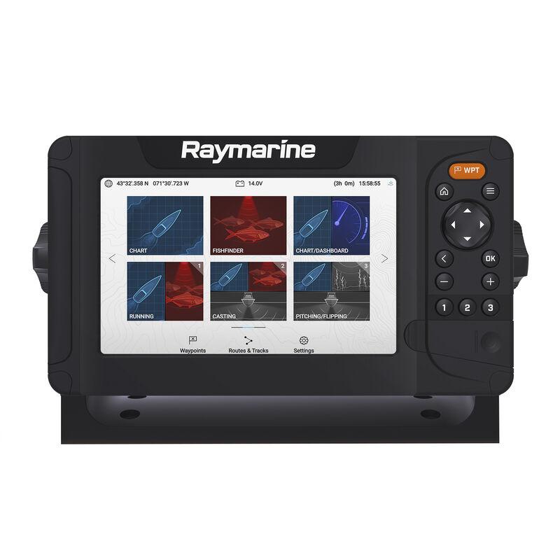 Raymarine Element 7 HV-100 GPS Fishfinder w/Navionics Nav+ US & Canada Charts image number 2