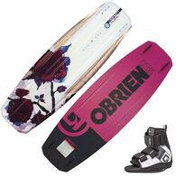 O'Brien Stiletto Wakeboard With Plan B Bindings