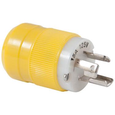 Marinco 15-Amp/125V Locking Male Plug