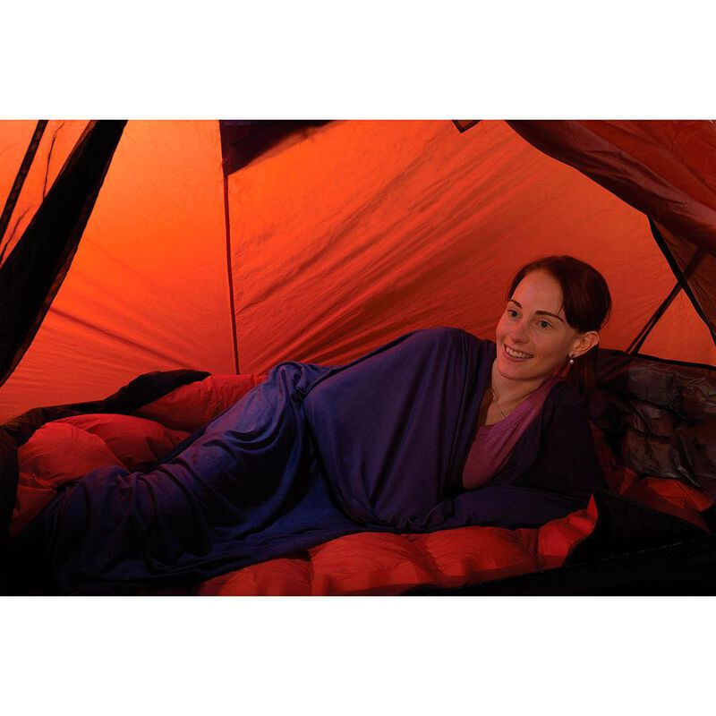 Sea to Summit Expander Travel Sleeping Bag Liner with Pillow Insert image number 2