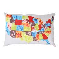 "RV Traveler's Pillow, 24"" x 16"""
