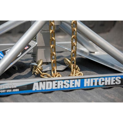 Andersen Hitches Ultimate Connection Safety Chains with Plate