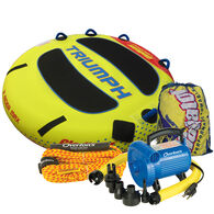 Gladiator Triumph 2-Person Towable Tube Package