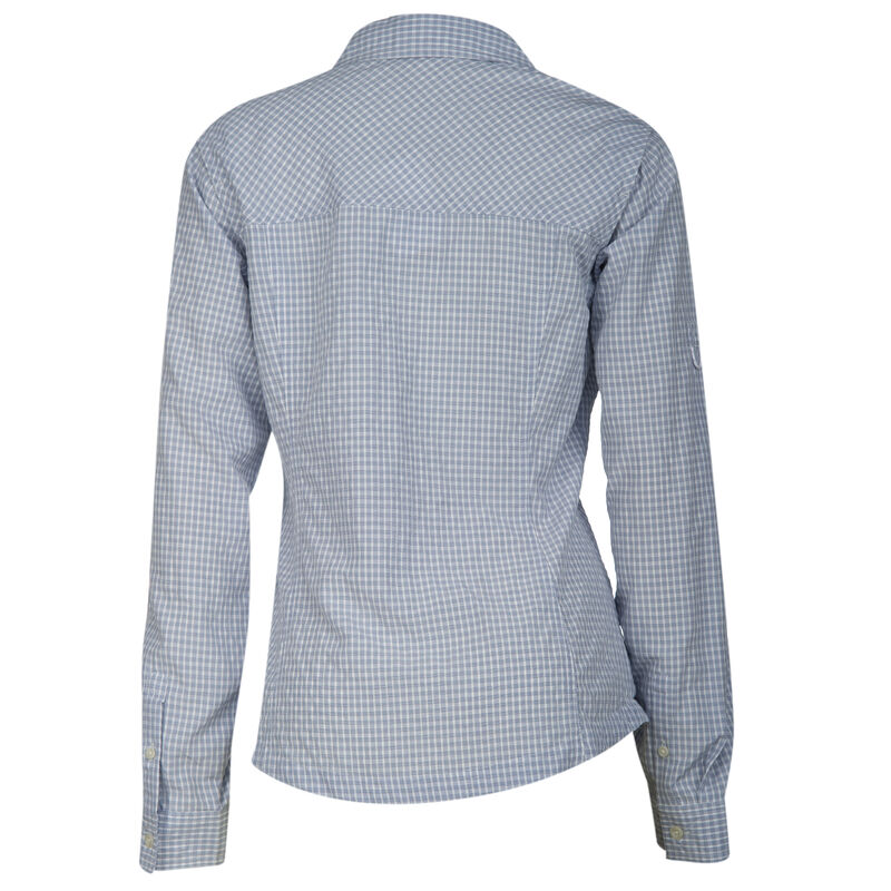 Ultimate Terrain Women's Trailhead Bug Repel Long-Sleeve Plaid Shirt image number 16