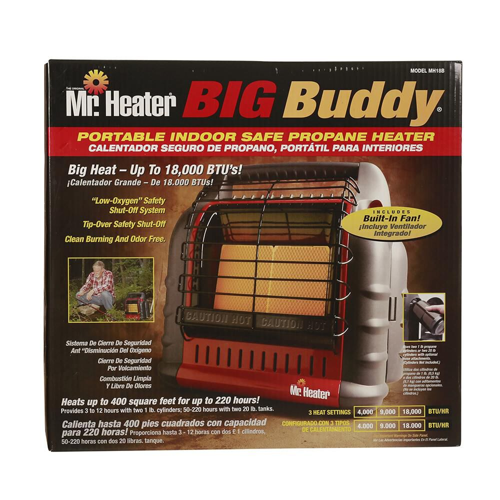 Mr Heater Big Buddy Portable Indoor Propane Heater
