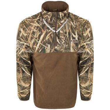 Drake Men's Guardian Flex Eqwader Waterproof 1/ 4 Zip Hunting Jacket
