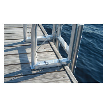 International Dock Wide-Step Dock Lift Ladder, 7-Step