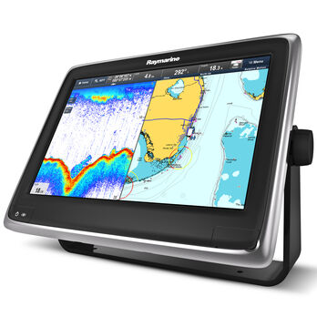 "Raymarine a127 12.1"" MFD With Digital Sonar And US LNC Vector Charts"