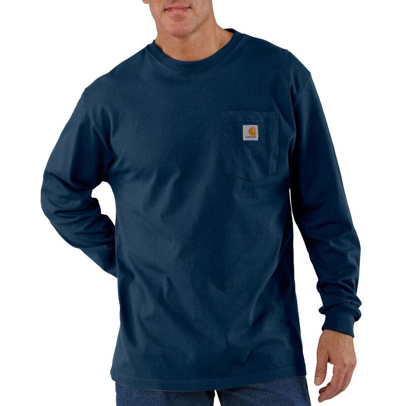 Carhartt Men's Workwear Long-Sleeve Pocket Tee image number 7