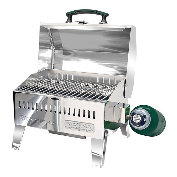 """Magma Alpine 9"""" x 12"""" Multipurpose Stainless Steel Gas Grill"""