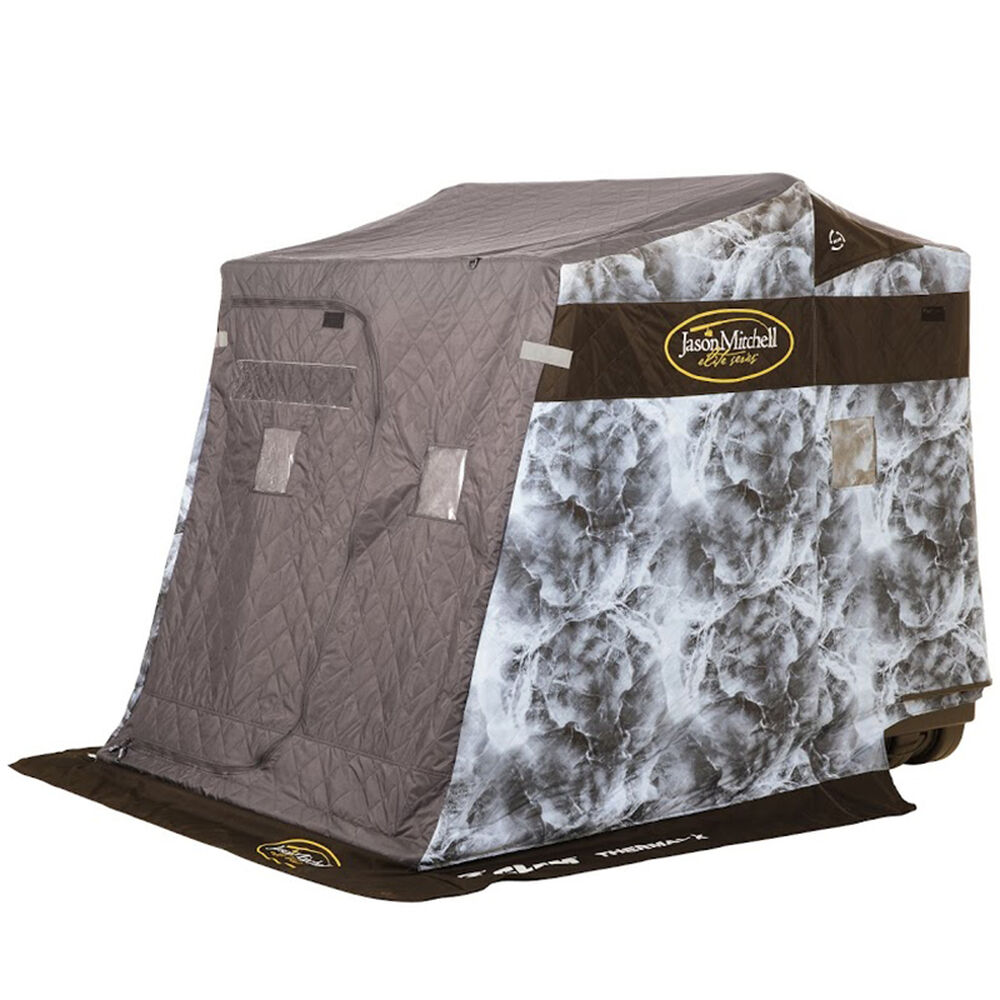 Clam Jason Mitchell Thermal X Fish Trap Ice Shelter
