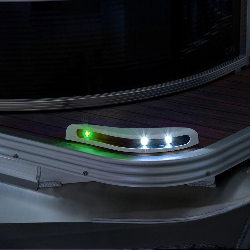 Toonmate Pontoon LED Docking Light Module Set, White Finish image number 4