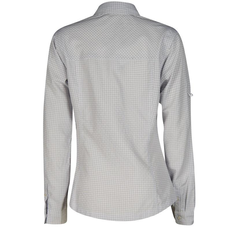 Ultimate Terrain Women's Trailhead Bug Repel Long-Sleeve Plaid Shirt image number 11