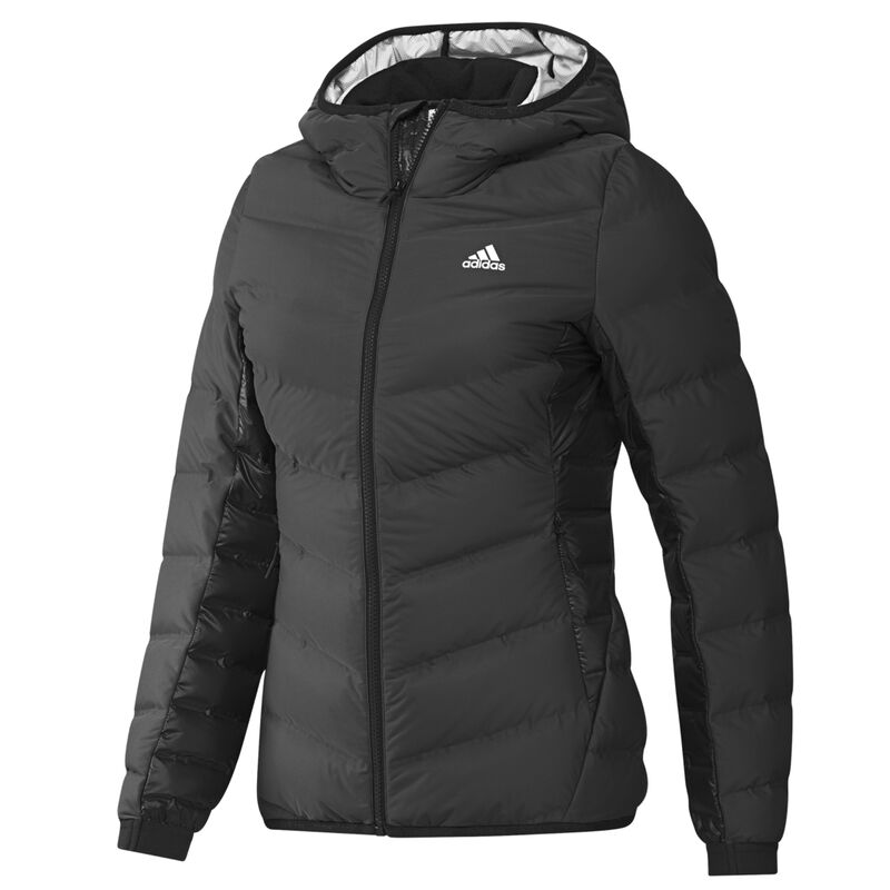 Adidas Women's Nuvic Hooded Down Jacket image number 9