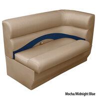 Toonmate Premium Pontoon Left-Side Corner Couch w/Mocha Base