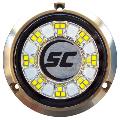 Shadow-Caster Single-Color Bronze Underwater Light – 24 LEDs, Great White