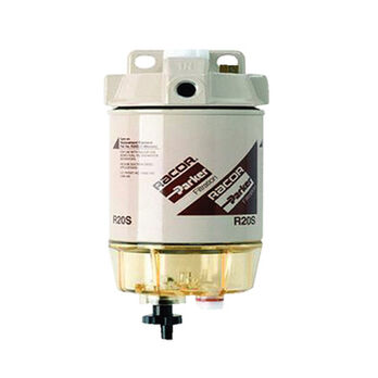 Diesel Spin-On Series Filter/Separator, R20 Element, 30 GPH