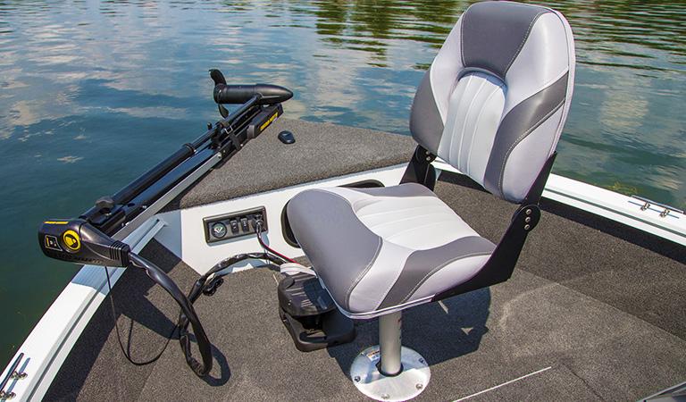 Helm & fishing seats