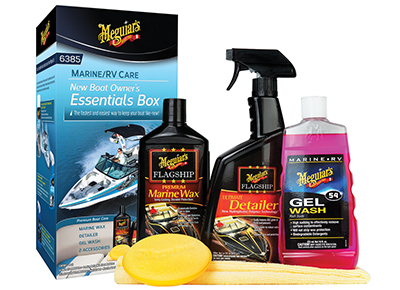 Save 15% on Meguiar's New Boat Owner's Essentials Box