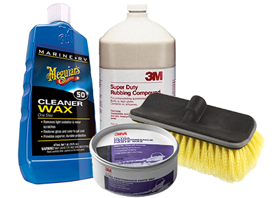 Save up to 25% on boat cleaners