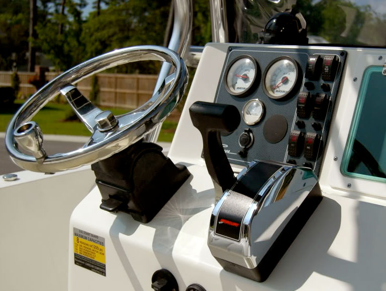 Throttle and Shifter Controls