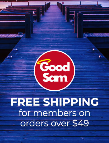 Free shipping for Good Sam Club members on orders over $49