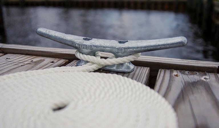 Dock Line & Cleats