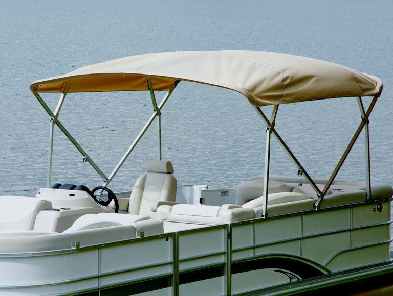 How to Measure Your Boat for a Shademate Bimini Top | Overton's