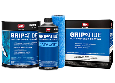 Save up to $50 on select GripTide non-skid deck coating